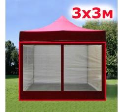 Комплект москитных стенок 3м красный