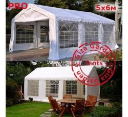 Шатер павильон Giza Garden 5x6м белый PRO