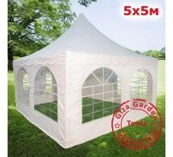 Шатер Пагода Giza Garden 5х5м белый PRO