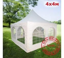 Шатер Пагода Giza Garden 4х4м белый PRO