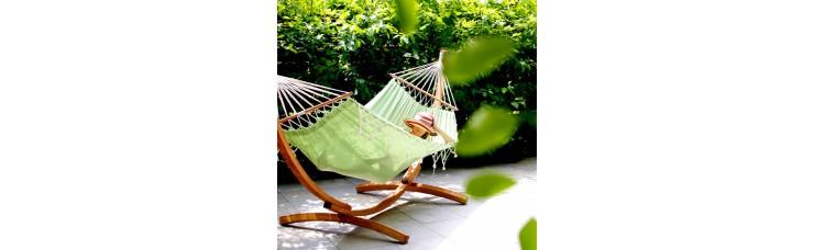 Гамак TANGO с чехлом для подушки (Бразилия) цвет зеленый