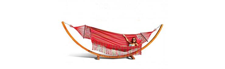 Гамак двухместный KOLOMBUS (Колумбия) цвет красный
