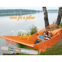 Гамак двухместный TULIP с чехлом для подушки (Бразилия) четыре цвета