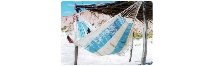Гамак двухместный PARADISE (Бразилия) цвет голубой