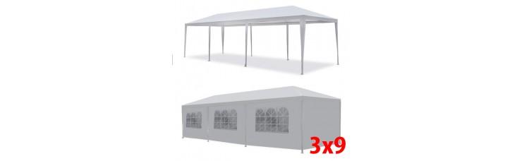 Садовый шатер белый 3х9 (AFM 1045B)