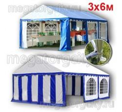 Шатер павильон Giza Garden 3х6м ПРО