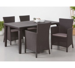 Обеденная группа Футура М (стол Футура с 4 стульями Монтана)