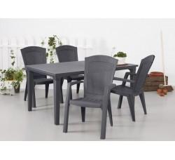 Обеденная группа стол Футура и 6 стульев Минесота