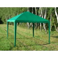 Садовый Тент 2,5х2,5м усиленный каркас, без стенок, зеленый