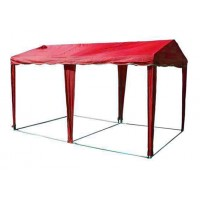 ШАТЕР-БЕСЕДКА МИТЕК 5х2,5, усиленный каркас, без стенок, красный