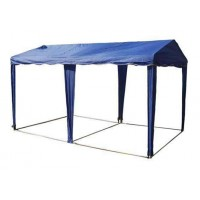 ШАТЕР-БЕСЕДКА МИТЕК 6х3м, усиленный каркас, без стенок, синий