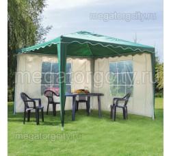 Крыша для шатра беседки 3х3м, с клапаном, 420ДЭН