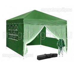 Быстросборный шатер автомат (Green Glade 3001) 3 зеленые стенки и 1 москитная