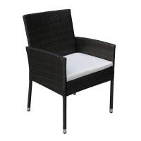Кресло из искусственного ротанга Лара