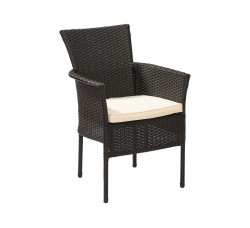 Кресло искусственный ротанг Милан