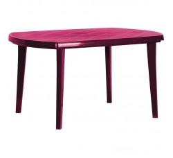 Стол пластиковый  овальный 1370*900*730