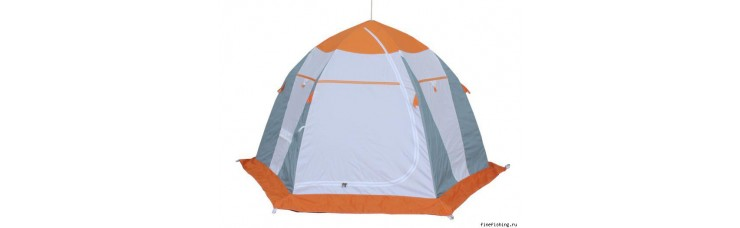 Палатка для зимней рыбалки НЕЛЬМА 3 ЛЮКС (МИТ)