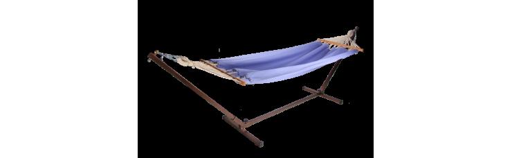 Стойка каркас для гамака металлическая раздвижная бронза