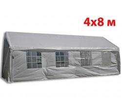 Шатер павильон 4x8 м белый 48201W ПВХ