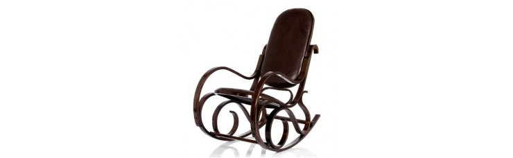 Кресло-качалка Формоза кожа, вариант 1 экокожа