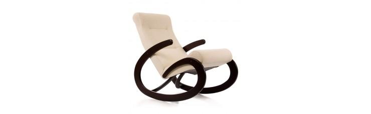 Кресло-качалка, модель 1, ткань Солерно