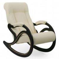 Кресло-качалка, модель 7 экокожа