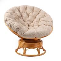 Кресло-качалка Papasan Swivel с подушкой