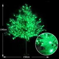 LED дерево Клен 190см зеленый