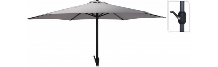 Зонт садовый складной Koopman ф300 купол светло-серый FD4300620