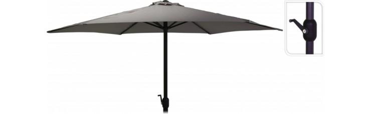 Зонт садовый складной Koopman ф300 купол темно-серый FD4300630