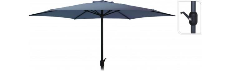 Зонт садовый складной Koopman ф300 купол синий FD4300640