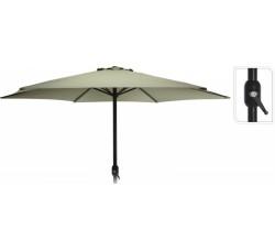 Зонт садовый складной Koopman ф300 купол зеленый FD4300650
