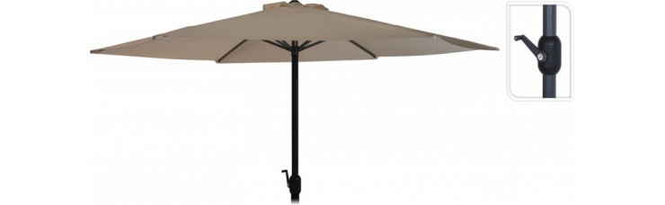 Зонт садовый складной Koopman ф300 купол туапе FD4300610