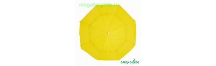 Зонт Green Glade 1282 желтый