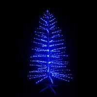 """LED-""""Ель синяя"""", высота 210см,1200 светодиодов"""