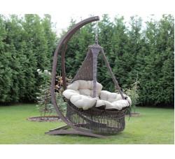 Подвесное кресло CARTAGENA + Каркас СORSA + антимоскитная сетка