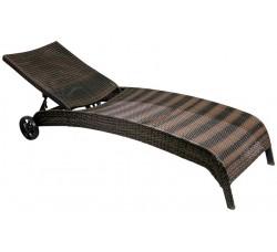Лежак-шезлонг MONACO (темно коричневый)