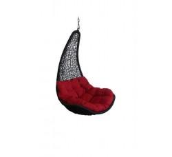 Корзина для подвесного кресла из ротанга Грация, черное