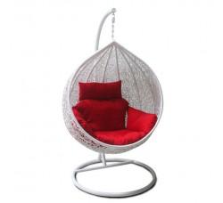 Подвесное кресло Tropica White 120х100
