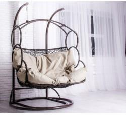 Подвесное двухместное кресло-качели для двоих Лаура