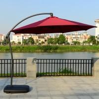 Садовый зонт GardenWay A005 бордовый/зеленый/беж
