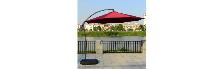 Садовый зонт GardenWay A005 бордовый