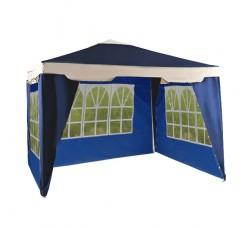 Садовый тент шатер (Green Glade 1031) 3х3м 3 стенки с окном