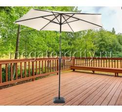 Зонт садовый Green Glade 2091 бежевый D 270 см