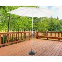 Зонт садовый Green Glade 2092 белый D 270 см