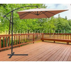 Зонт садовый Green Glade 6403 светло-коричневый 2х3м