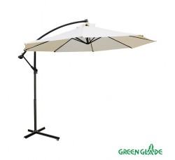Зонт садовый Green Glade 8001 бежевый D 3м