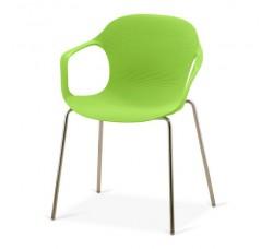 Кресло пластиковое Larry Green XRB-078-BG