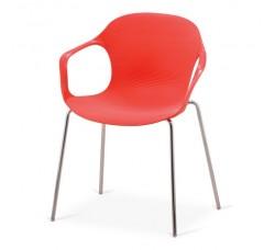 Кресло пластиковое Larry Red XRB-078-BR