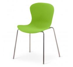 Стул пластиковый Molly green XRB-078-AG